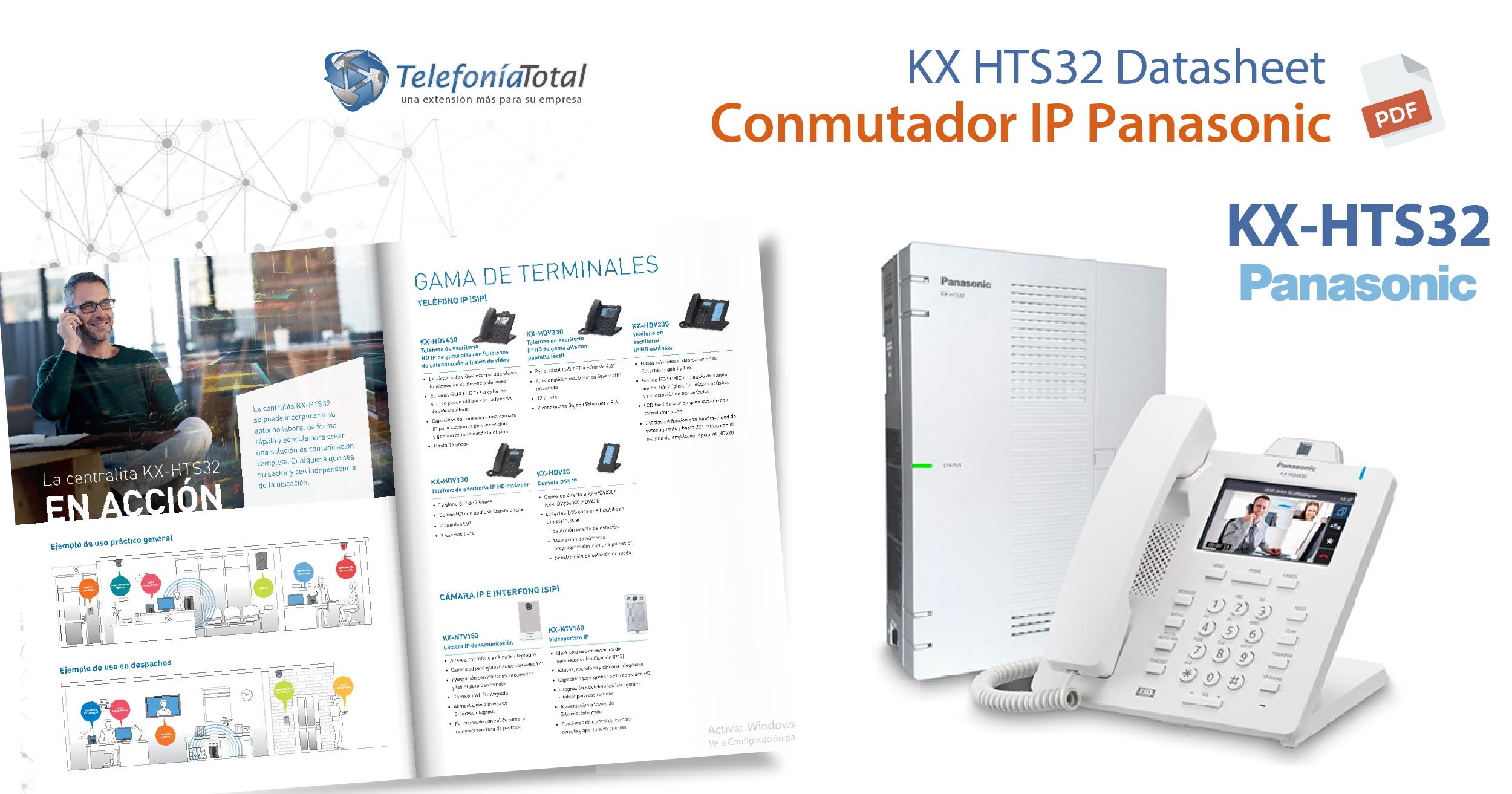 KX HTS32 Datasheet PDF Panasonic