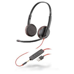 C3220 Diadema Estereo Blackwire USB
