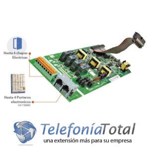 KX-TE82461 Tarjeta portero electronico 4 puertos