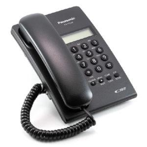 KX-T7703-B Telefono sencillo ID, negro