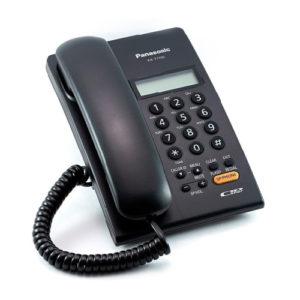 KX-T7705-B Telefono ID con altavoz, negro