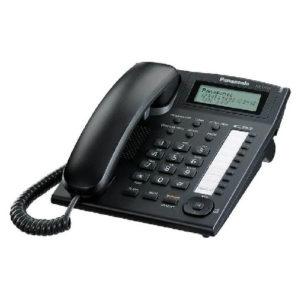 KX-T7716-B Telefono ejecutivo, negro