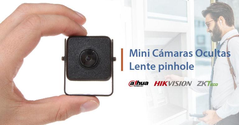 Camaras CCTV Lente Pinhole