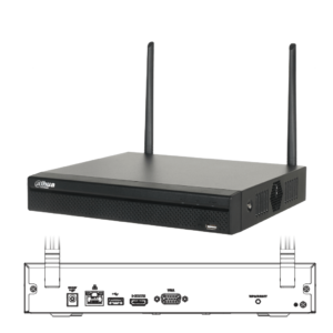 DHI-NVR2104HS-W-4KS2 Grabador NVR 4 Canales IP Wifi