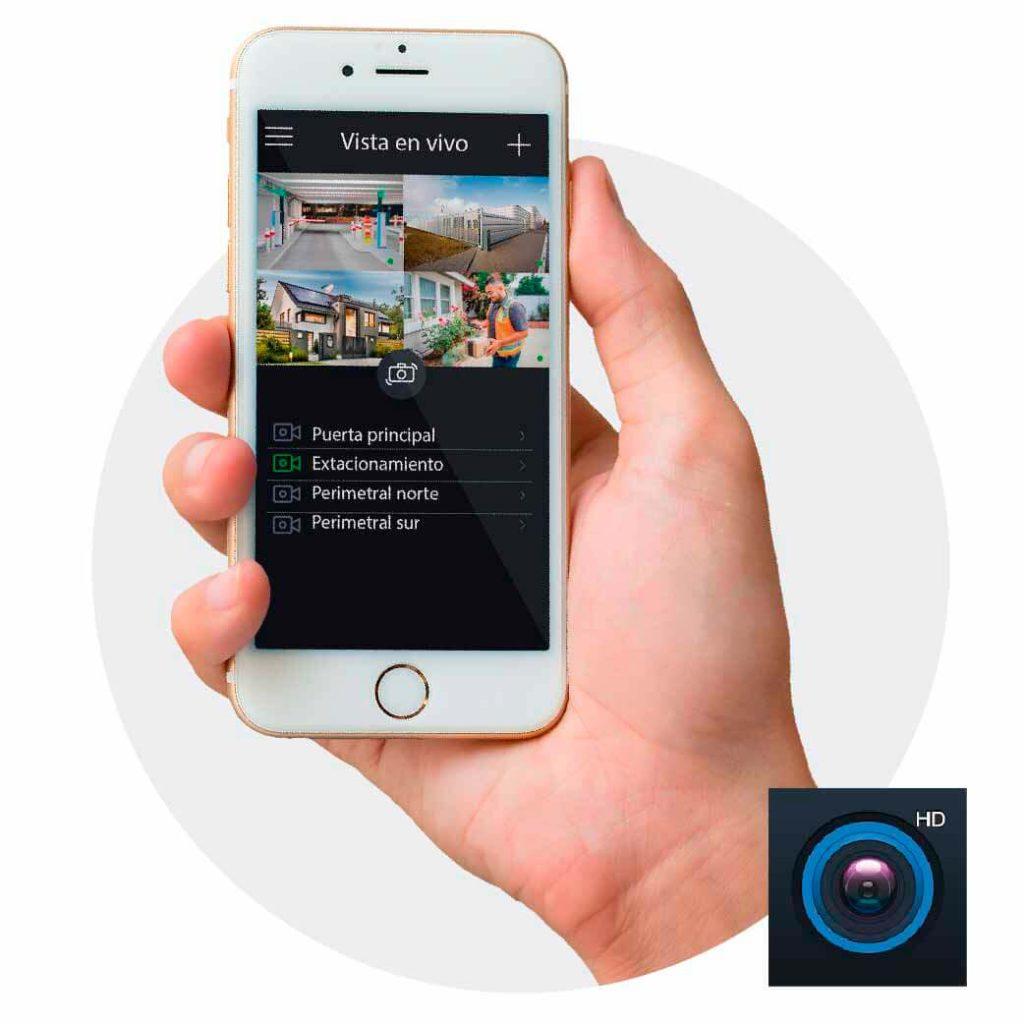 App Android Cámaras CCTV Fraccionamientos