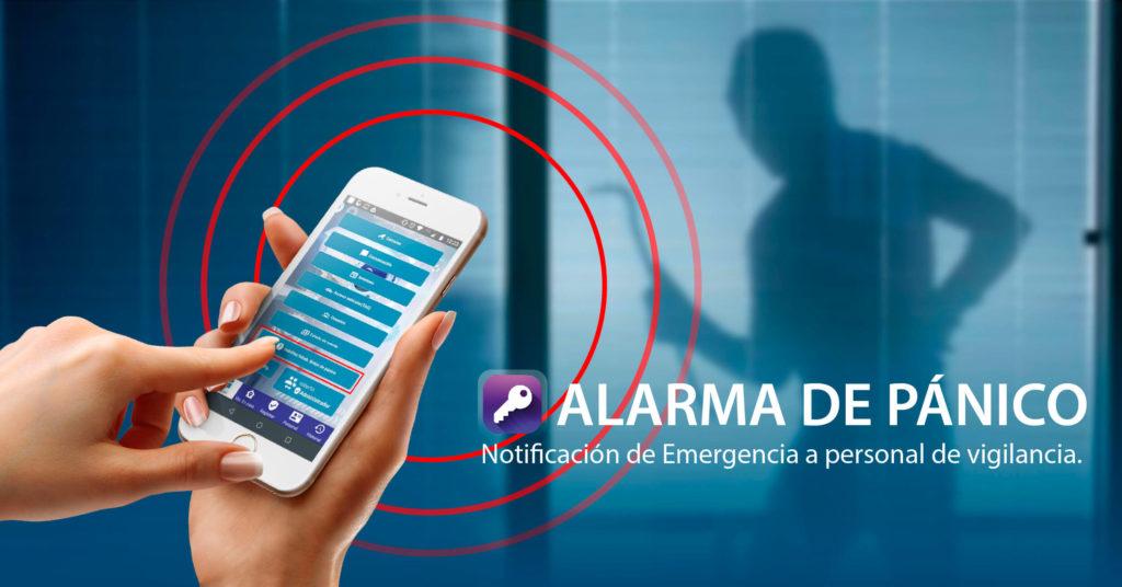 Alarma de pánico con ubicación ADV Residencial