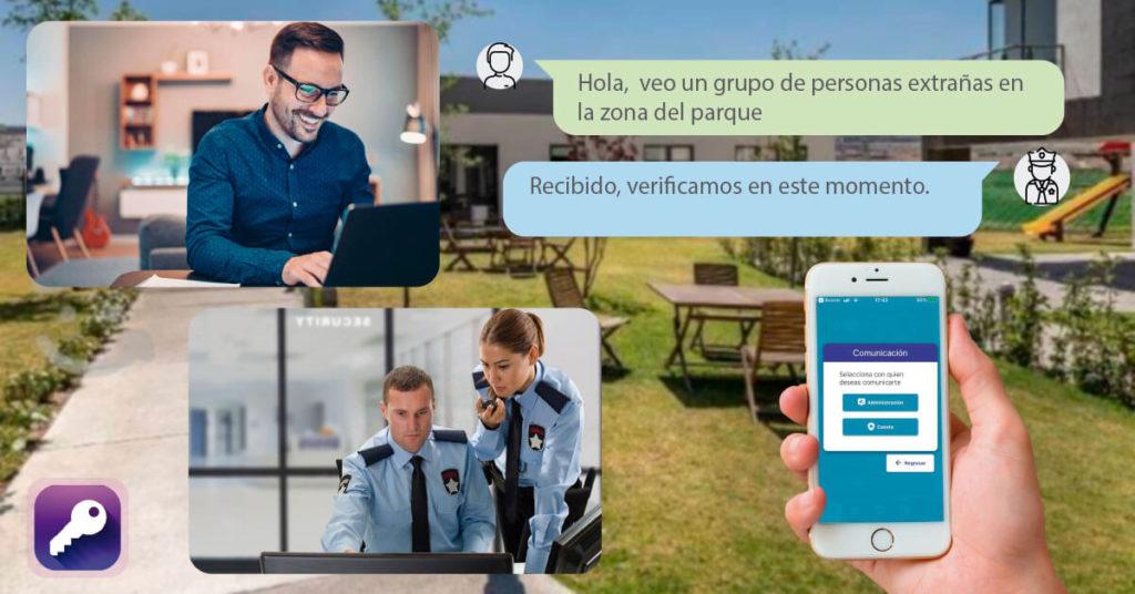 ADV Residencial chat vigilancia